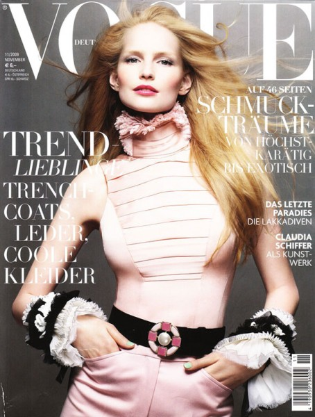 Vogue Germany November 2009 – Katrin Thormann by Sølve Sundsbø