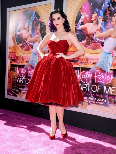 Katy Perry is Darling in Dolce & Gabbana at the 'Katy Perry: Part of Me' Premiere