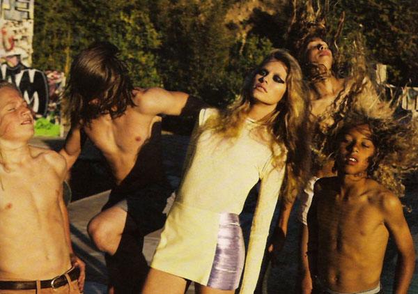 Keke Lindgard by Knoepful & Indlekofer for Vogue Germany July 2010