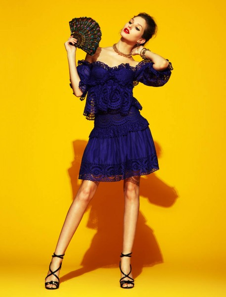 Kelsey Van Mook by Jason Kim for Elle Mexico April 2012