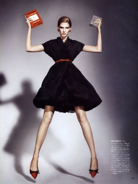 Kendra Spears by Jason Kibbler for <em>Vogue Nippon</em> January 2011