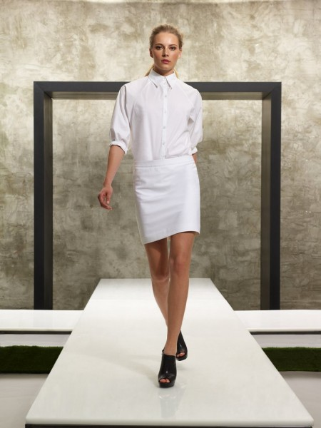 Ieva Laguna for Kenneth Cole Spring 2012 Lookbook