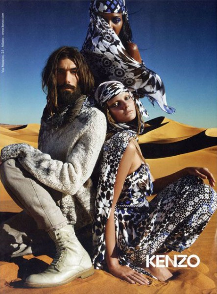 Kenzo Spring/Summer 2010 Campaign Preview | Eniko, Patrick & Liya by Mario Sorrenti