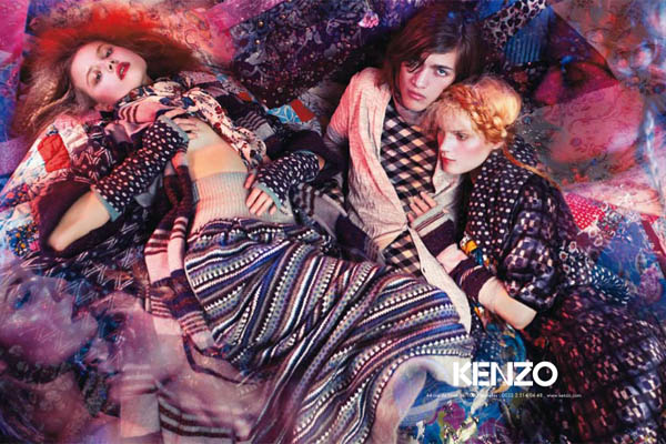 Campaign Preview | Kenzo Fall 2009 by Mario Sorrenti