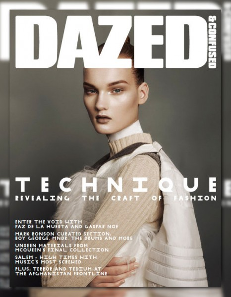 <em>Dazed & Confused</em> October 2010 Cover | Kirsi Pyrhonen by Sharif Hamza