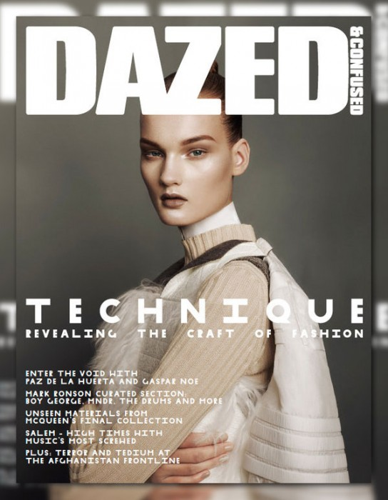 Dazed & Confused October 2010 Cover | Kirsi Pyrhonen by Sharif Hamza