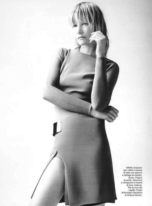 Kirsten Owen by Johan Sandberg for D La Repubblica