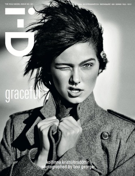 Kolfinna Kristófersdóttir Rocks Margaret Howell on i-D's Fall 2012 Cover