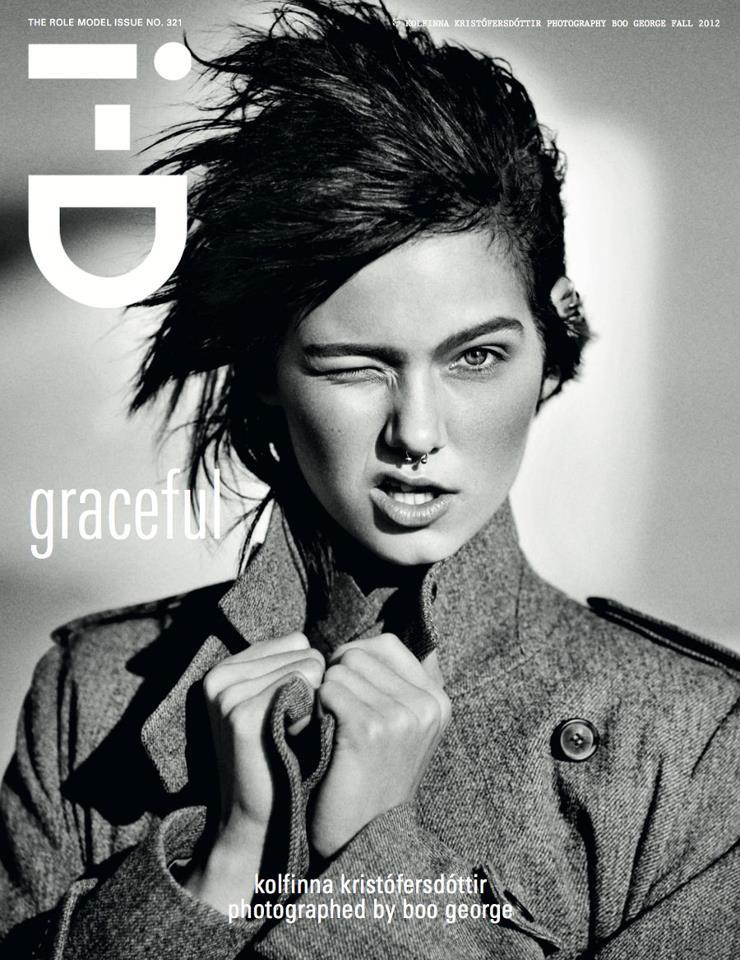 Kolfinna Kristófersdóttir Rocks Margaret Howell on i-D's Fall 2012 Cover