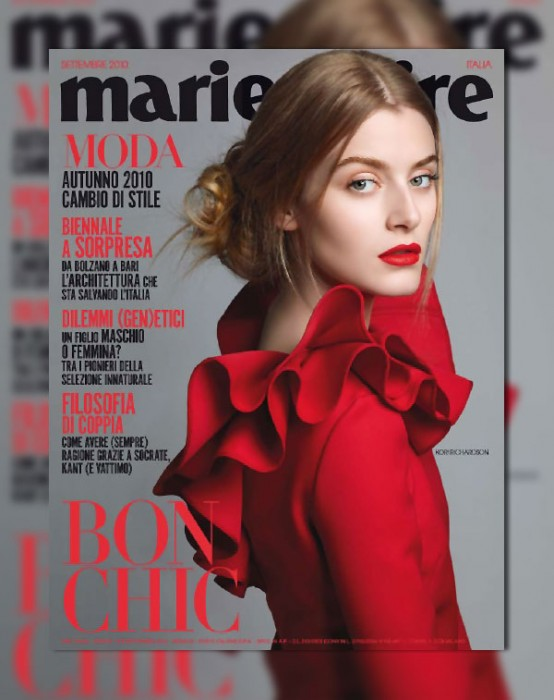 Marie Claire Italia September 2010 Cover | Kori Richardson