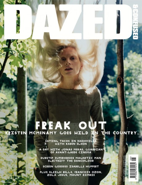 <em>Dazed &#038; Confused</em> August 2010 Cover | Kristen McMenamy by Tierney Gearon
