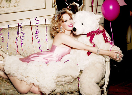 Kylie Minogue by Ellen von Unwerth for TOUS