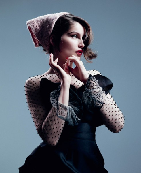 Laetitia Casta by Willy Vanderperre for <em>T Magazine</em> Fall 2010