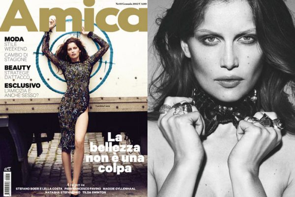 Laetitia Casta by Driu + Tiago for <em>Amica</em> January 2012
