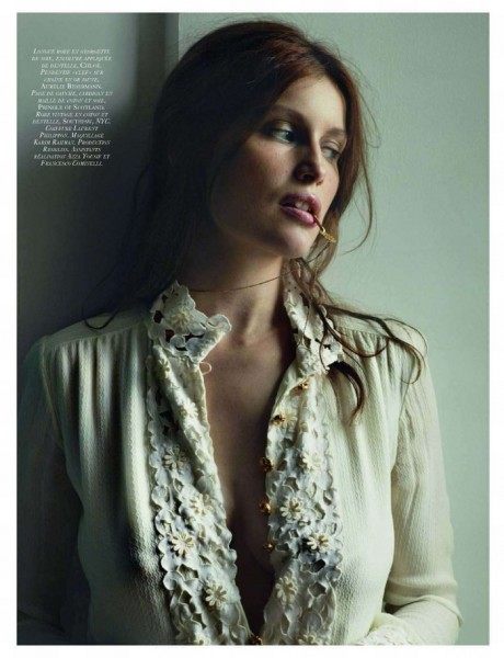 Vogue Paris December 2009 | Laetitia Casta by Cédric Buchet