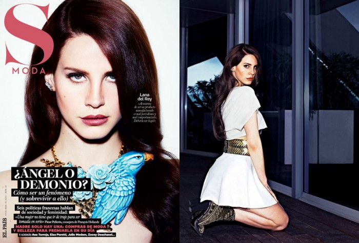 Lana del Rey by Simon Emmett for S Moda April 2012