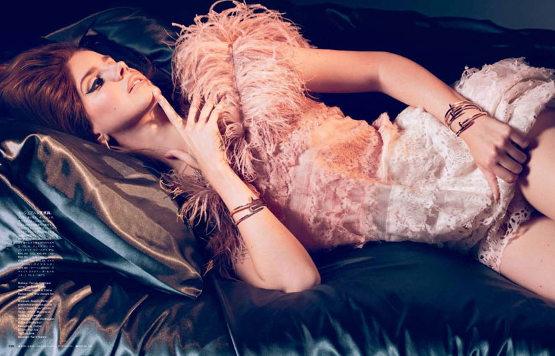 Lana del Rey Models Glam Beauty for Sean & Seng's Vogue Japan Shoot