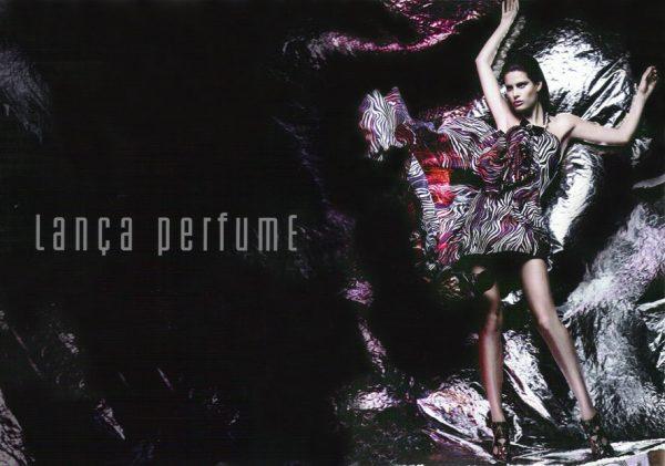 Isabeli Fontana for Lança Perfume S/S 2010
