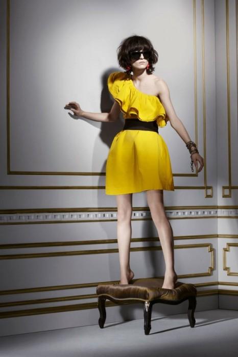 Lanvin for H&M Fall 2010 | Irina Lazareanu