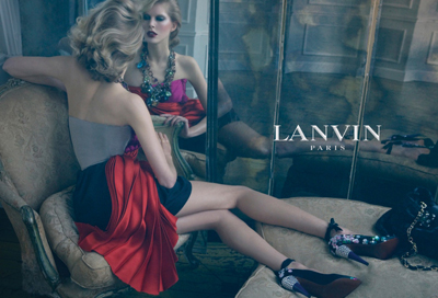 Lanvin Spring 2009 Campaign | Iselin Steiro by Steven Meisel
