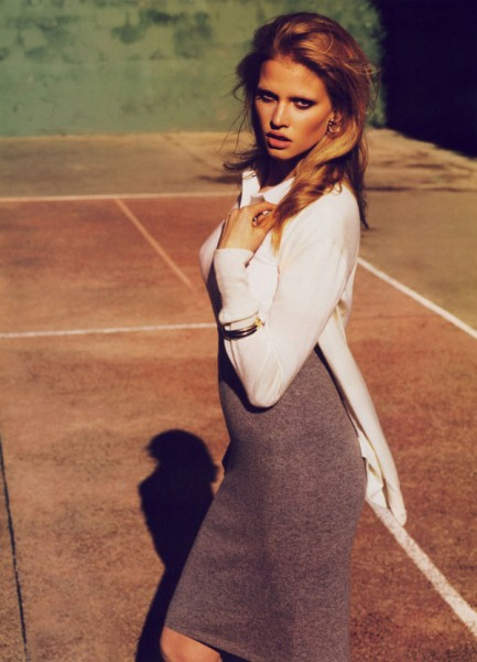 Morning Beauty | Lara Stone by Mert & Marcus