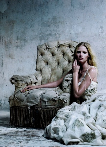Lara Stone for <em>Vogue China</em> December 2010 by Willy Vanderperre