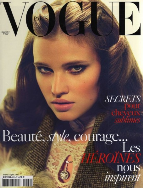 Vogue Paris September 2009 – Lara Stone by Mert & Marcus