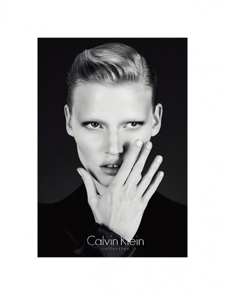 Calvin Klein Fall 2010 Campaign Previews | Lara Stone by Mert & Marcus