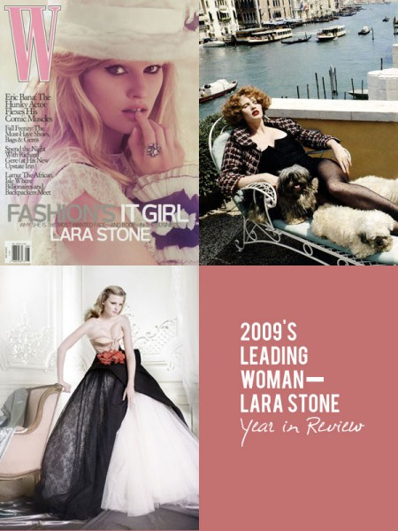 Year in Review | 2009's Leading Woman–Lara Stone