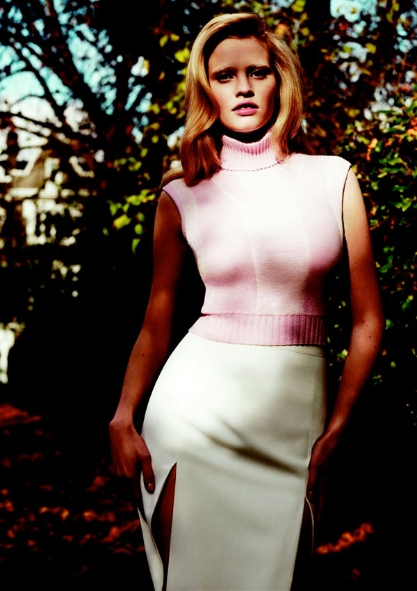 Vogue US January | Lara Stone On Being A Size 4 Model