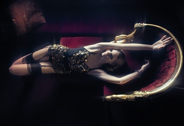 Jevne Ragnhild by David Bellemére in Light Show da Boudoir | <em>Marie Claire Italia</em> November 2010
