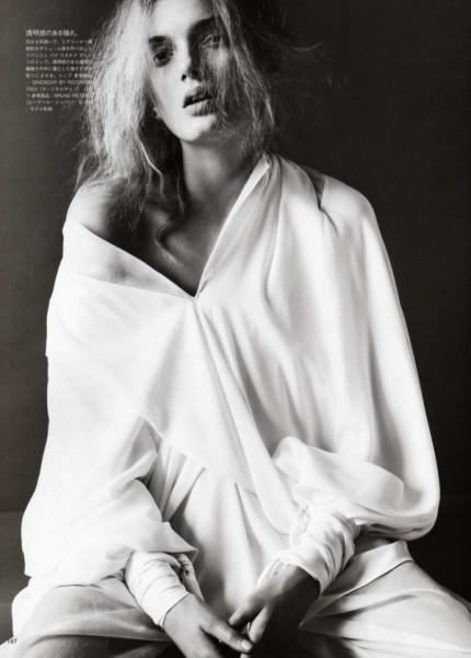 Lily Donaldson by Josh Olins for <em>Vogue Nippon</em> July 2010