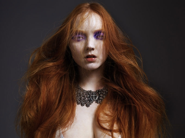Interview January 2010 | Lily Cole by Mario Sorrenti