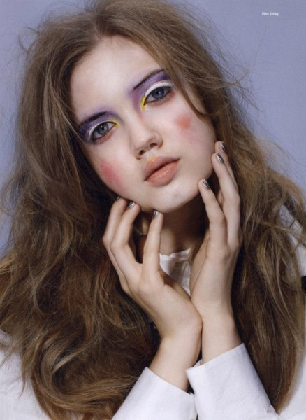 Lindsey Wixson by Emma Summerton for <em>i-D</em> Fall 2010