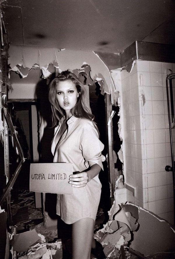 Lindsey Wixson for Purple Fashion F/W 2010 by Olivier Zahm