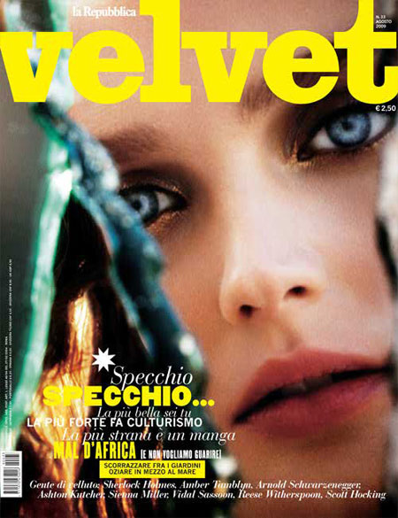 Velvet August 2009 – Lisa Cant by Enrique Badulescu