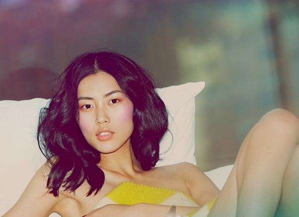 Model of the Month | Liu Wen by Guy Aroch for <em>WWD Beauty Biz</em>
