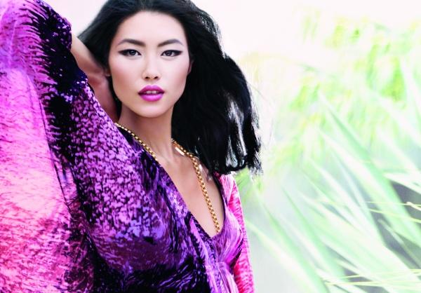 Liu Wen for Estee Lauder | First Look