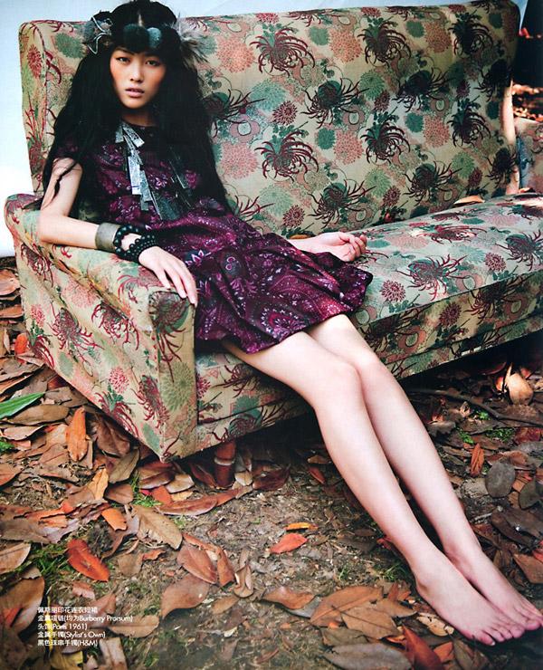 Model of the Month | A Look Back-Liu Wen by Li Qi