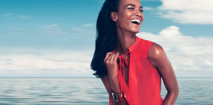 "Liya Kebede for H&M ""Wake Up To Spring"" Collection"