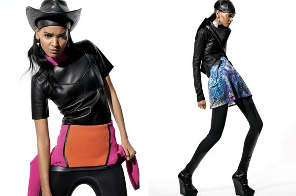 Liya Kebede by Amy Troost for <em>i-D</em> Summer 2010