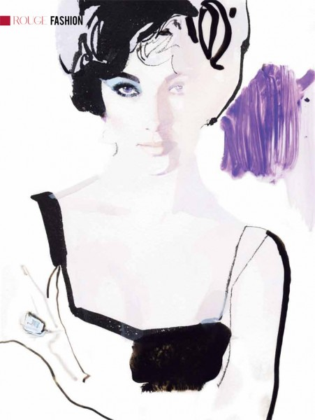 Elizabeth Taylor by David Downton for <em>ROUGE</em> Winter 2011