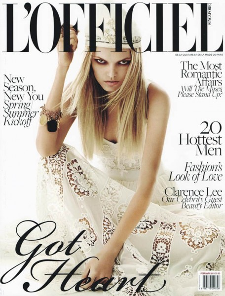 <em>L&#8217;Officiel Singapore</em> March 2011 Cover | Iryna by Wee Khim