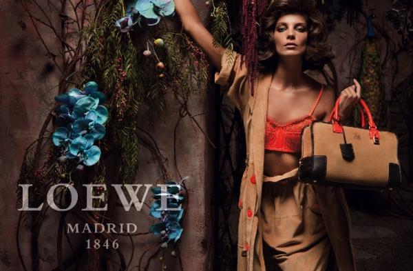 Spring 2010 Campaign Preview | Loewe–Daria Werbowy by Inez van Lamsweerde & Vinoodh Matadin