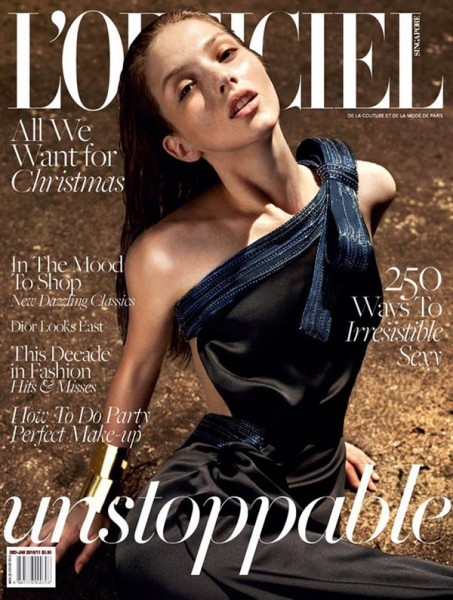 <em>L'Officiel Singapore</em> December 2010 Cover | Martina P by Wee Khim