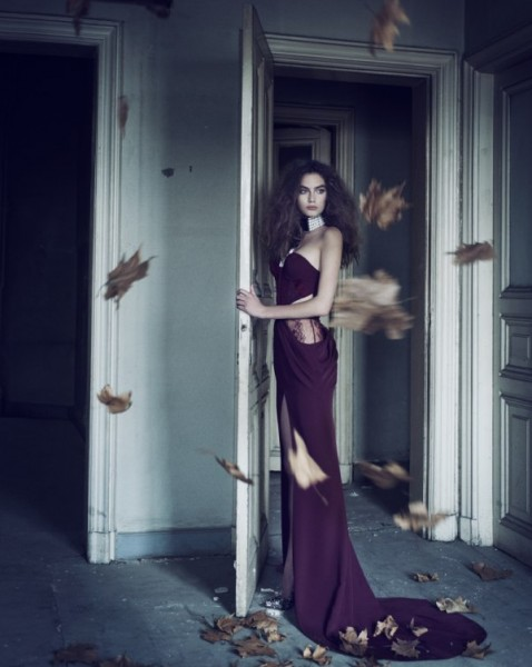 Kira Mazura by Ayten Alpun for <em>Marie Claire Turkey</em> January 2011