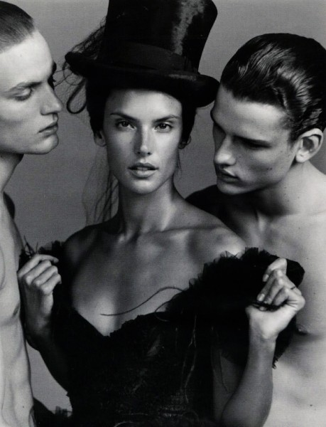 Alessandra Ambrosio by Alasdair McLellan in Love Match | <em>Vogue Russia</em> May 2010