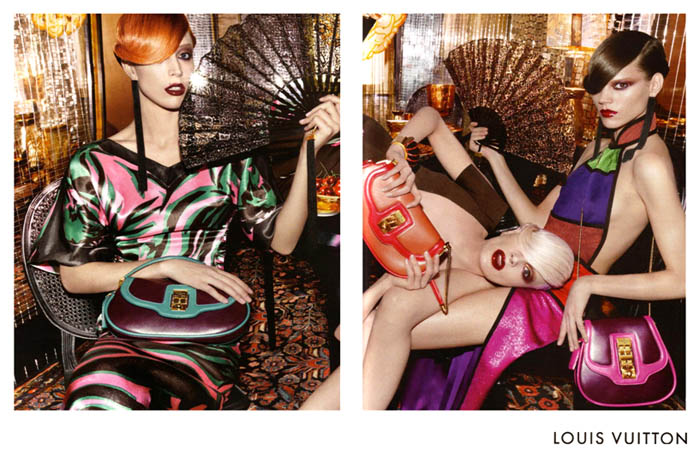 Louis Vuitton Spring 2011 Campaign Preview | Freja Beha Erichsen, Raquel Zimmermann & Kristen McMenamy by Steven Meisel