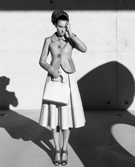 Saadet Isil Aksoy by Tamer Yilmaz in Louis Vuitton   Marie Claire Turkey November 2010