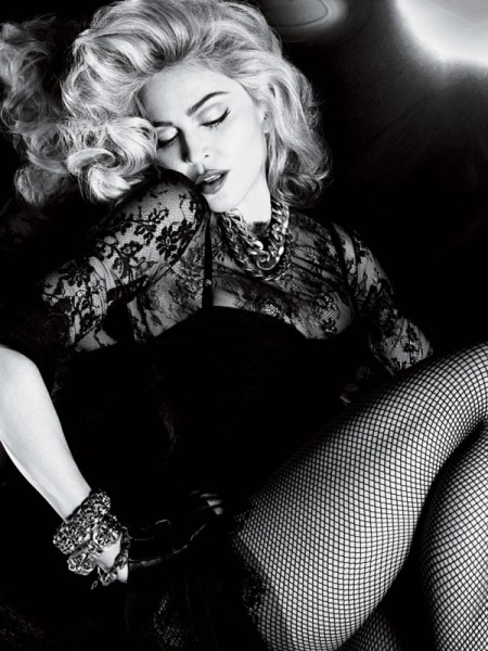 Madonna by Mert &#038; Marcus for <em>Interview</em> May 2010